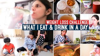 What I Eat & Drink in A Day | My 1200 Calorie Diet & Meal Plan | June & July Weight Loss Challenge