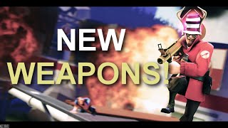[TF2] New Weapons! Late To The Party.