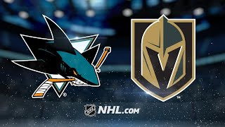 Golden Knights edge Sharks, clinch Pacific title