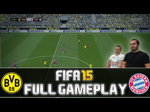 Fifa 15 | FULL Gameplay - Borussia Dortmund vs. FC Bayern München | DEUTSCH | by PatrickHDxGaming