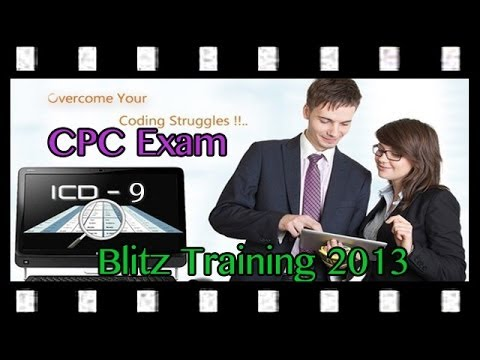 CPC Exam Study Guide: Blitz Training on ICD-9