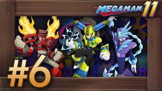 Mega Man 11: Walkthrough Part 6 - Boss Rush & Final Boss (Switch Gameplay)