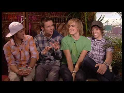 Mcfly Interview on T4 on the beach