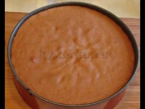 Бисквитное тесто без разделения яиц