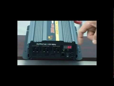 Power Inverters - 2000 Watt Power Inverter