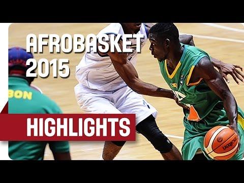 Gabon v Mali - Game Highlights - Group C - AfroBasket 2015