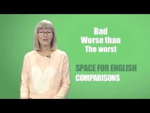 Space for English - PTV Season 2 Programme 04: Comparisons