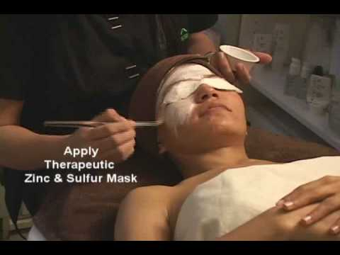 Acne Facial Treatment At Metamorphosis Day Spa Using Emerge Labs Skin Care