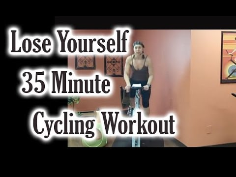Lose Yourself! In This 35-Min Cycling Workout