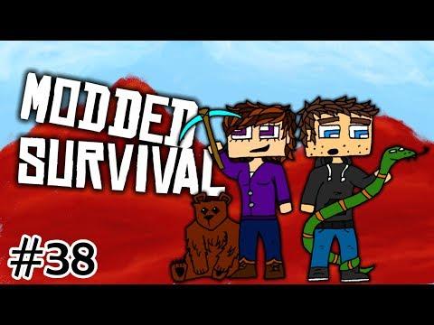 Minecraft: Modded Survival w/ Mo' Creatures - Wyvern Portal Staff (Part 38)