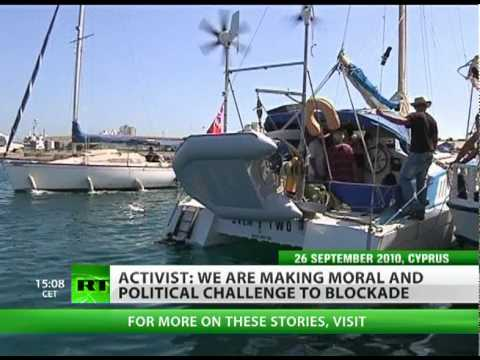 Boat Busted: Israeli warships 'sink' Gaza blockade protest mission