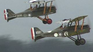 Remembrance Day WW1 Aircraft Display