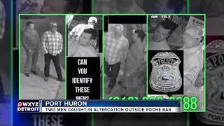 Police seek 2 men involved in altercation outside Port Huron bar