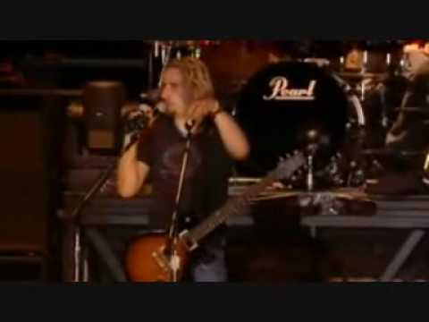 Nickelback- Side of a bullet LIVE