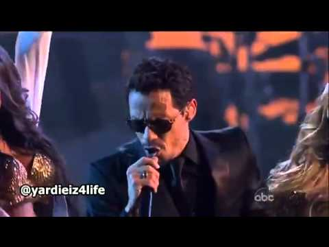 Pitbull - Rain Over Me ft. Marc Anthony live performans canlı performans HD.flv