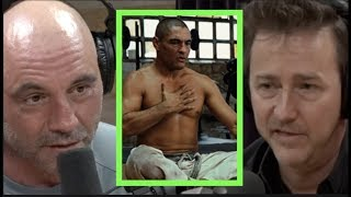 Edward Norton Talks Rickson Gracie with Joe Rogan