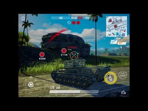 Armored warfare: assault gameplay iOS #1