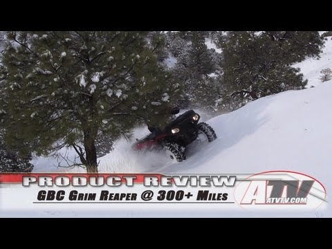 ATV Television Product Review - GBC Grim Reaper All Season Test Part 2 @ 300 Miless