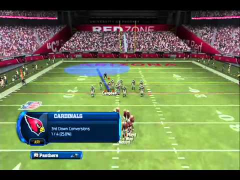 Madden 13 - Preseason: Panthers x Cardinals (Madden League BR)