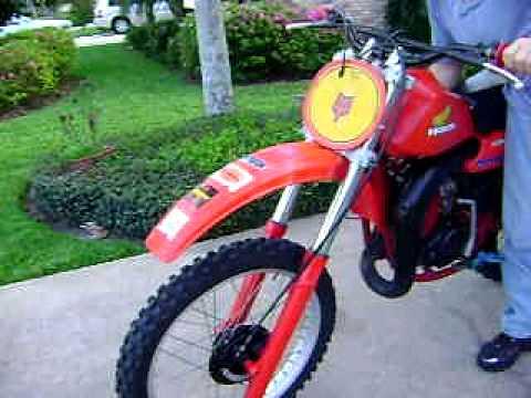 1980 CR250 Elsinore