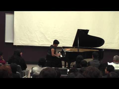 Santa Ana College Piano Recital December 6, 2013 - Part 1