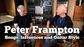 Peter Frampton In Person - His Songs, Influences and Guitar Style