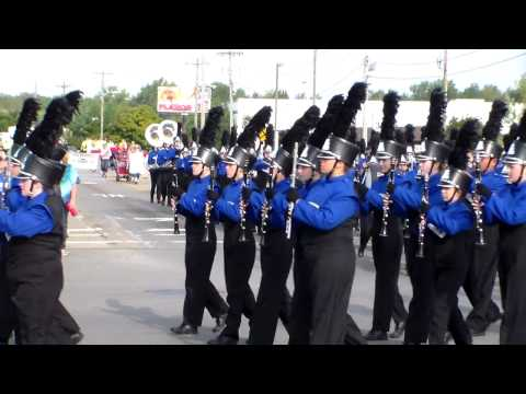 Central Crossing High School Marching Band~Arts in the Alley; 9/20/14