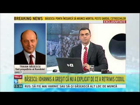 Traian Basescu despre Codul Silvic