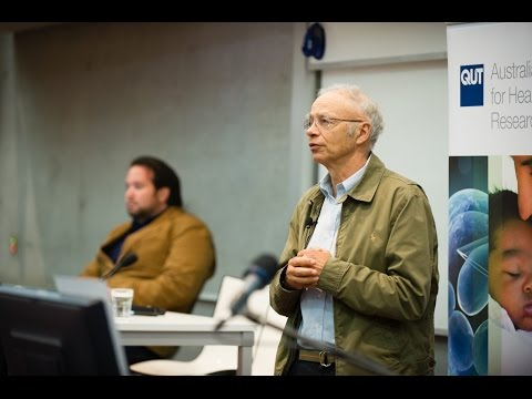 QUT – ICEL – Peter Singer & Charles Camosy debate: Ethics of euthanasia and assisted suicide