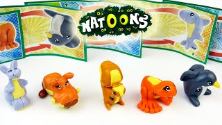 Kinder Surprise Toys Natoons Series Animal Shifters 2014-2015 - SurpriseEggsSHOW
