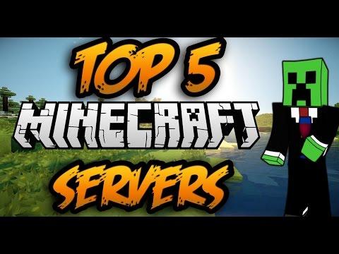 Top 5 mejores servers de minecraft NO PREMIUM 2014 I 1.7.2 - 1.7.10