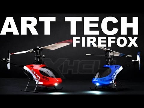 Art Tech 4Ch FireFox RC Helicopter flight Review