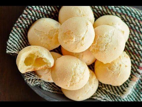 Бразильский сырный хлеб   Pão de Queijo