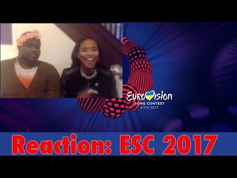[REACTION] Eurovision 2017 Recap of ALL Songs