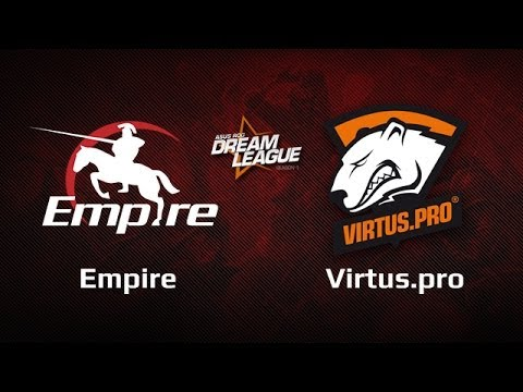 Empire vs Virtus.pro, DreamLeague Day 6 Game 3