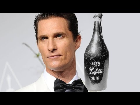 Matthew McConaughey Joins The BILLIONAIRE'S VINEGAR - AMC Movie News