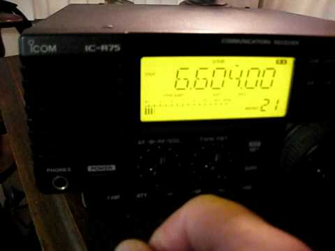icom r75 nulling noise on SSB