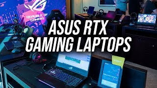 New ASUS RTX Gaming Laptops!