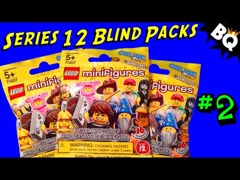 LEGO Minifigure Series 12 Blind Pack Openings Part 2