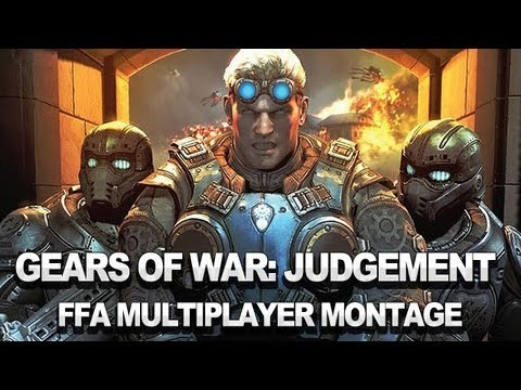 Gears of War: Judgment  Free-for-All Multiplayer Montage