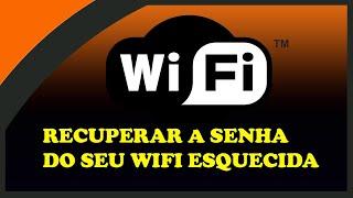 Como descobrir senha WiFi no windows 7 e 8
