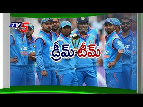 BCCI Announced Team India for World Cup 2015 : TV5 News