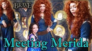 BRAVE Princess Merida Meet and Greet at Walt Disney World Magic Kingdom