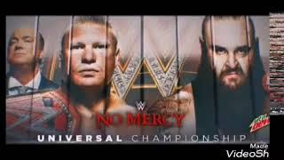 Promo of Brock lesar vs Braun strowman at no mercy
