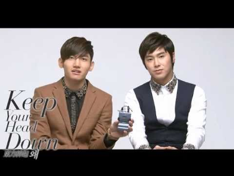 TVXQ!(東方神起) _ Interview _  왜(Keep Your Head Down) NEW ALBUM