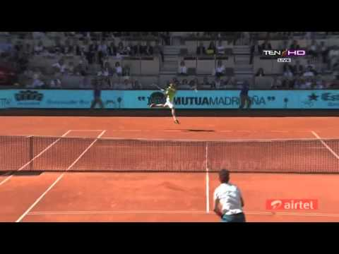 Rafael Nadal Vs David Ferrer HIGHLIGHTS ATP MADRID OPEN 2013 HD]   YouTube