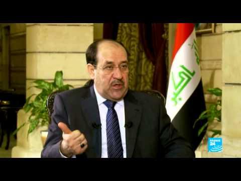 Nouri al-Maliki à FRANCE 24 :