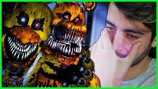 FNAF 4... MY LORD! I CAN'T HANDLE THIS FREE ROAM... 😭 - (Five Nights at Freddy's 4 Free Roam)