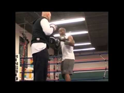 Coach Rick Technical Boxing Padwork Reflex Training