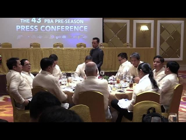 PBA Governors show united front; Romero says 'it's time to move on'